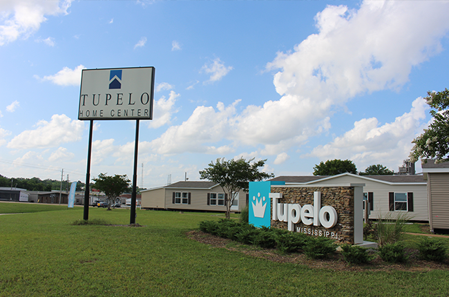 Tupelo lot and sign