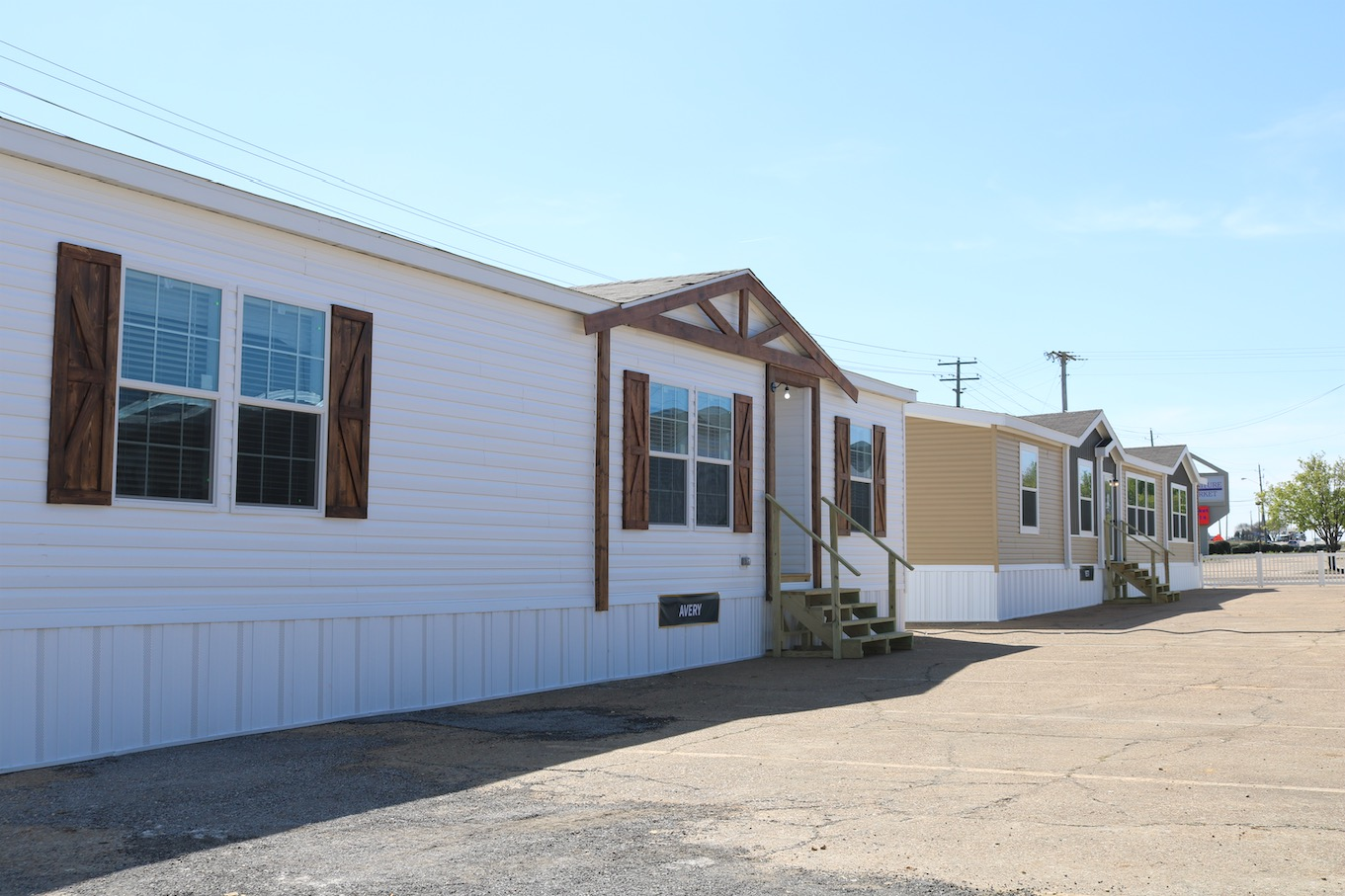 multiple double section mobile homes