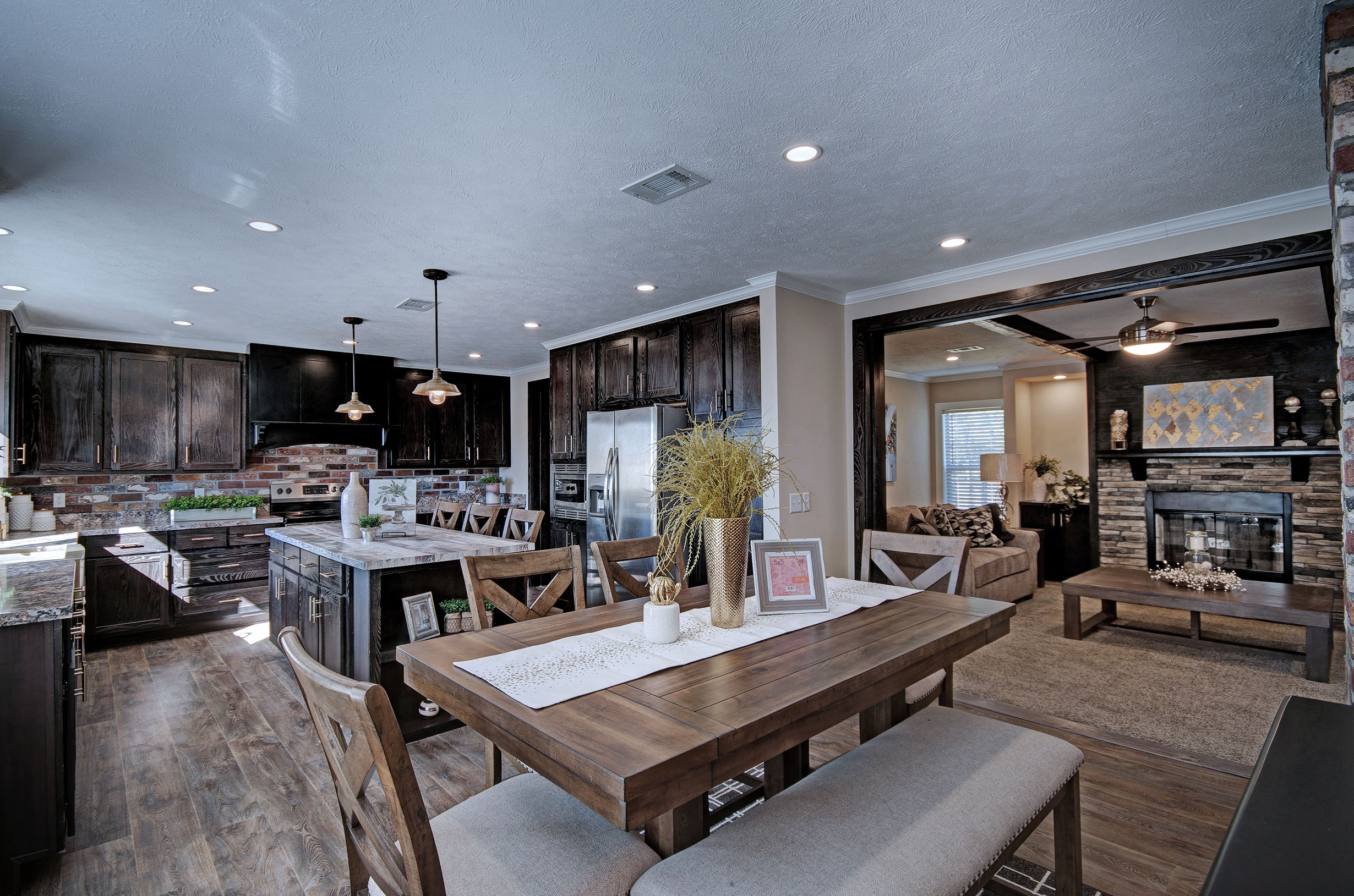 The Stoney Pointe Kitchen by Winston Homebuilders